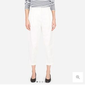 Everlane Slouchy Chino Pant in Off-White